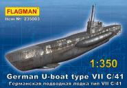 German U-boat type VII C/41