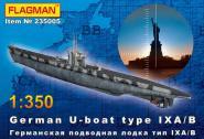 German U-boat type IX A/B