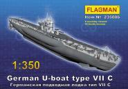German U-boat type VII C