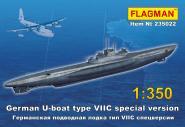 German U-boat type VII C special version