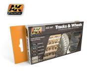 TRACK AND WHEELS COLORS SET