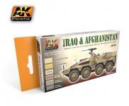 IRAQ & AFGHANISTAN COLORS SET