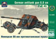 German 8,8cm antitank gun PaK 43