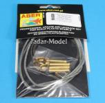 Tow cables & track cable with brackets used on Tiger I, King Tiger & Panther