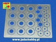 Standard drilled discs brakes dia. 12mm