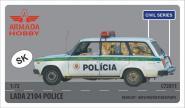 LADA 2104 Police Car