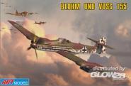 Blohm & Voss 155V2 WWII Ger. interceptor
