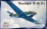 Me Bf-109 B-1 WWII German fighter