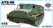 ATS-59 artillery tractor (early)