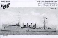 USS CL-1 Chester Cruiser, 1908