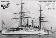 USS Atlanta Cruiser, 1886