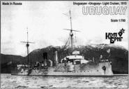 Uruguayan Uruguay Light Cruiser, 1910