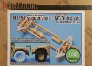 1/35 M1151 HMMWV Suspension MTR