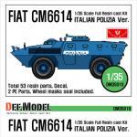 1/35 Fiat 6614 WAPC Full Kit