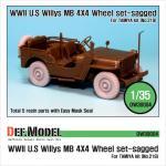 1/35 Willys MB 4x4 Truck Wheel set