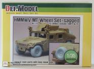 1/35 HMMWV MT Sagged Wheel se