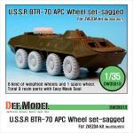 1/35 BTR-70 APC Wheel