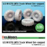 1/35 M1078 LMTV Truck Sagged Wheel
