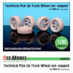 1/35 Technical Pick up Truck Sagged