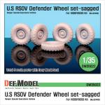 1/35 U.S RSOV Defender Sagged wheel