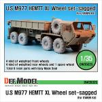 "1/35 M977 HEMTT ""XL"" Sagged Wheel s"