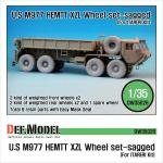 "1/35 M977 HEMTT ""XZL"" Sagged Wheel"