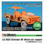 "1/35 U.S RSOV Defender ""MT"" Sagged"
