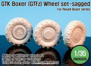 1/35 GTK Boxer (GTFz) Sagged Wheel
