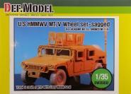 1/35 HMMWV BFGR Sagged wheel set(fo