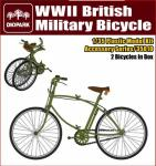 1/35 WWII British Military Bicycle
