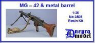 MG-42 & metal barrel