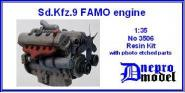 Sd.Kfz.9 FAMO engine
