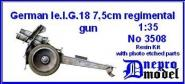 German le.I.G.18 75mm regimental gun WWII
