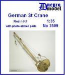 German 3t. Crane WWII