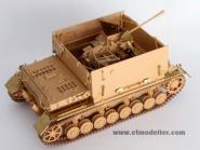 WWII German Flakpanzer IV Möbelwagen