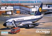 Boeing 737-100 Lufthansa