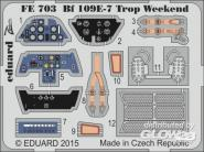 Bf 109E-7 Trop Weekend for Eduard