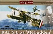 1/32 RAF S.E.5a WWI Biplane M