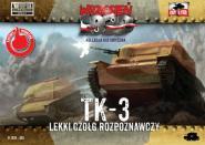 TK-3 WWII Polish Light Reconnaissance Tank