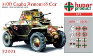 """39M CSABA """"Csatar"""" Rec. Armoured Car WWII."""