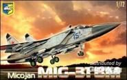 "MiG-31 BM ""Foxhound"" Soviet interceptor"