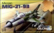 MiG-21-93 Soviet fighter