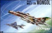 MiG-21 UM Mongol Soviet trainer-fighter