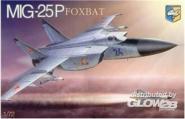 "MiG-25P ""Foxbat"" Soviet interceptor"
