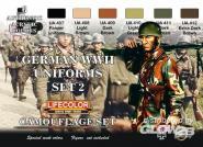 German military uniforms WWII set n.2