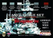 German WWII Kriegsmarine n.1 Camoufl.set