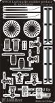 WWII Luftwaffe Rudder Pedals & Antennas