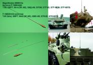 P-168BShDA antenna. For installation on new and modernized Russian armored vehicles (Version 1). T-90, BMPT, BTR-60PB, BTR-82