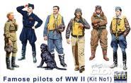 Famous WWII pilots set