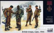 Britische Truppen Caen 1944